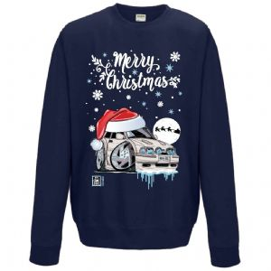 Premium Koolart Christmas Santa Hat Design & MK4 Escort RS Turbo car gift Sweatshirt Jumper